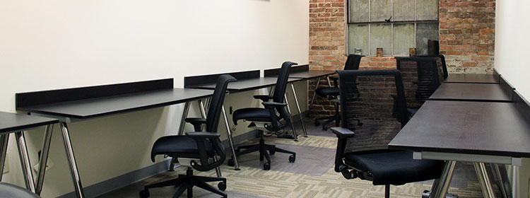 Open co-working space