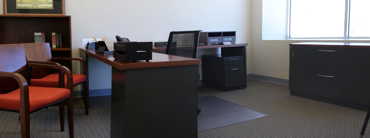 Spacious furnished offices